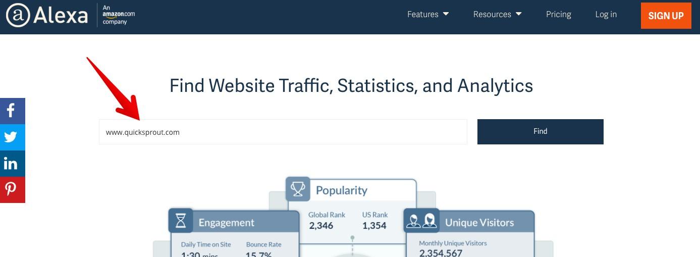 آدرس وبلاگ خود را وارد کنید