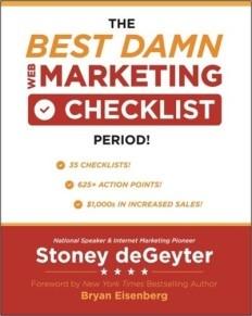 The Best Damn Web Marketing Checklist
