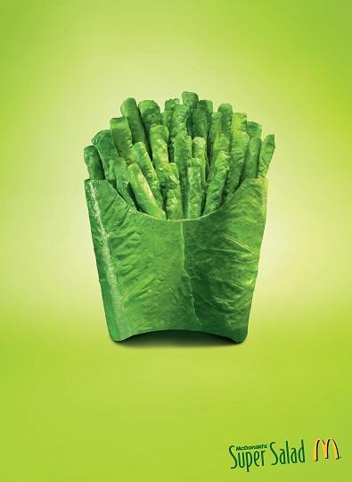 تاثیر رنگ سبز بر تبلیغات و رپرتاژ