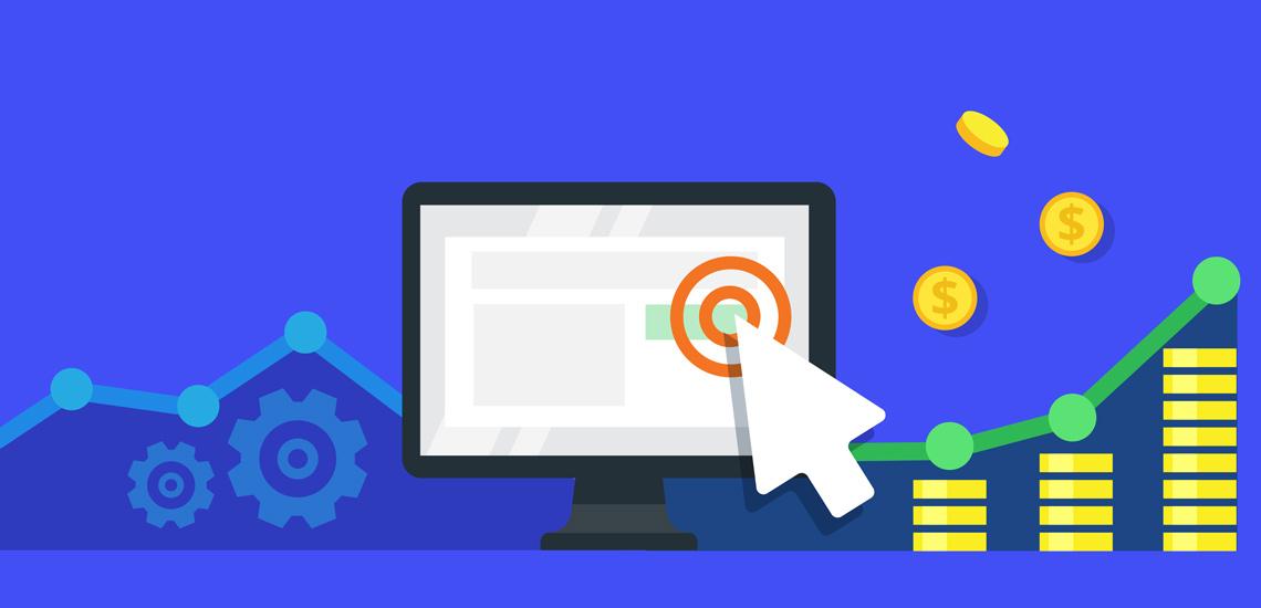آگهی کلیکی روشی برای درآمدزایی اینترنتی است.