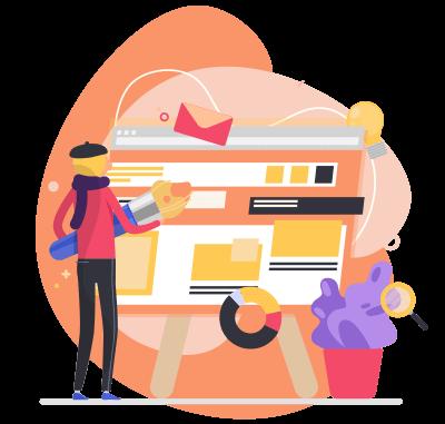 طراحی سایت نویسندگان پلی به وی مخاطبان