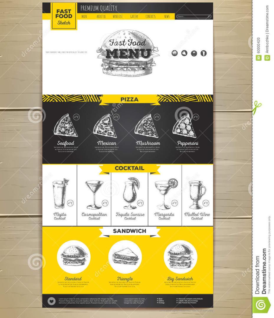 طراحی سایت مواد غذایی بر اساس نیاز مشتریان