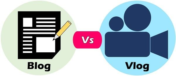 تفاوت ولاگ و بلاگ