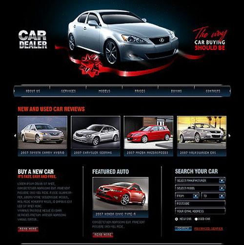 طراحی سایت خودرو، محلی برای خرید و فروش و انتخاب خودرو