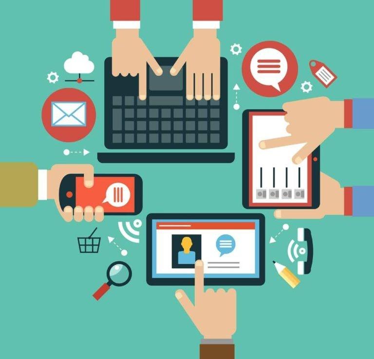 شکل 4 - تولید و فروش محتوا در کجا انجام میشود؟
