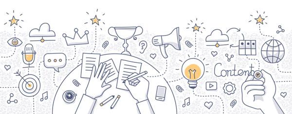 سه نکته ی ساده برای بازاریابی محتوا