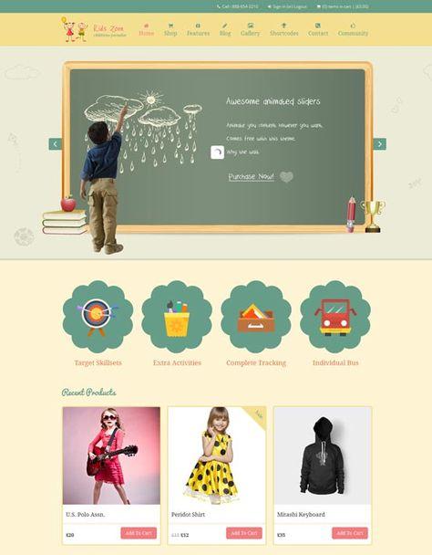 طراحی سایت مرتبط با کودکان با توجه به اصول روانشناسی