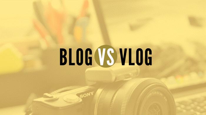 تفاوت های میان ولاگ و بلاگ