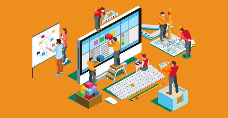 طراحی سایت برای کارهای خدماتی