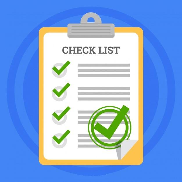 نمونه چک لیست انتشار محتوا