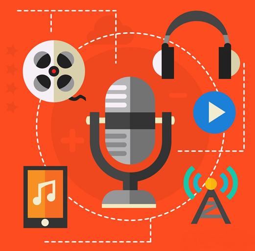 آموزش تولید محتوا صوتی